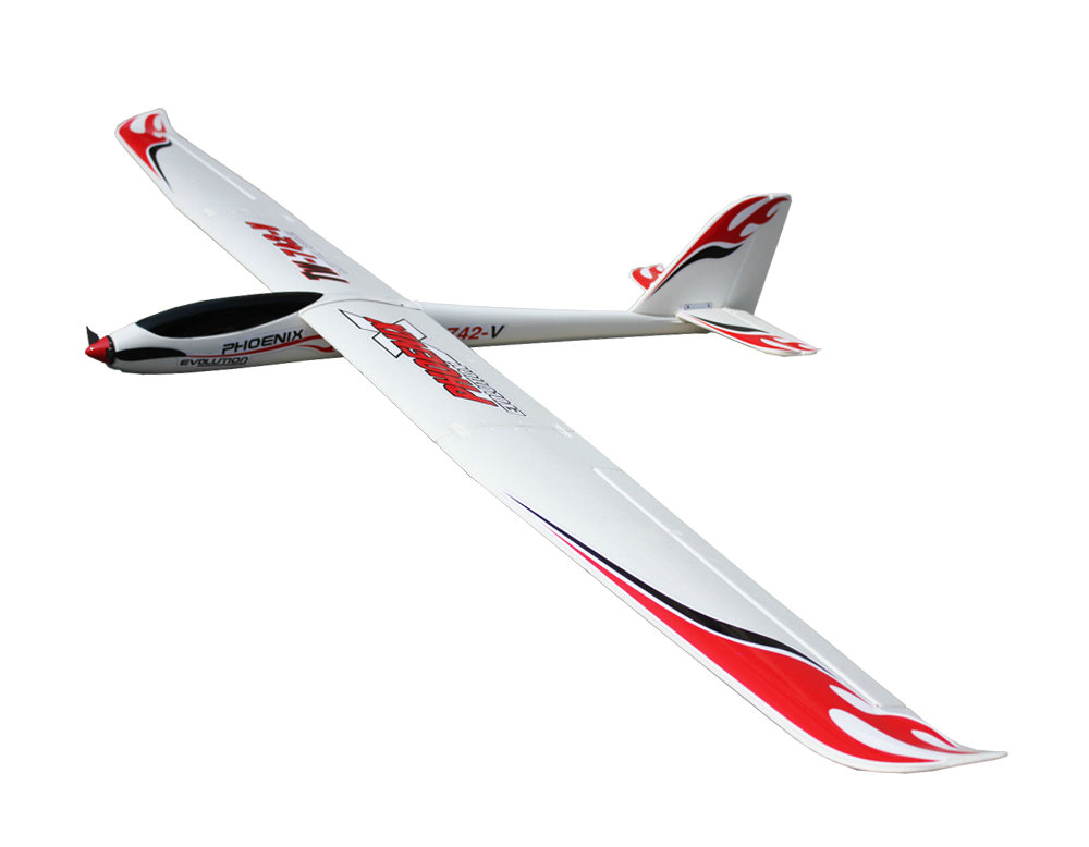 Volantex RC Phoenix Evolution 2 6m-1 6m exchangeable 2in1 Glider ( V742-5 )  PNP | VolantexRC