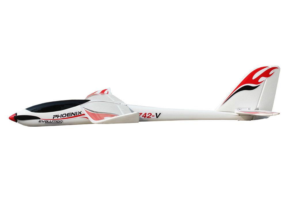 Volantex RC Phoenix Evolution 2 6m-1 6m exchangeable 2in1 Glider ( V742-5 )  PNP | VolantexRC