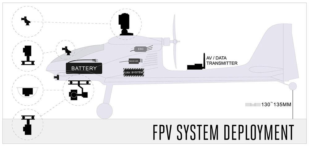 Volantex RC Ranger EX Long Range FPV / UAV platform Unibody big weight  carrier ( V757-3 ) PNP | VolantexRC