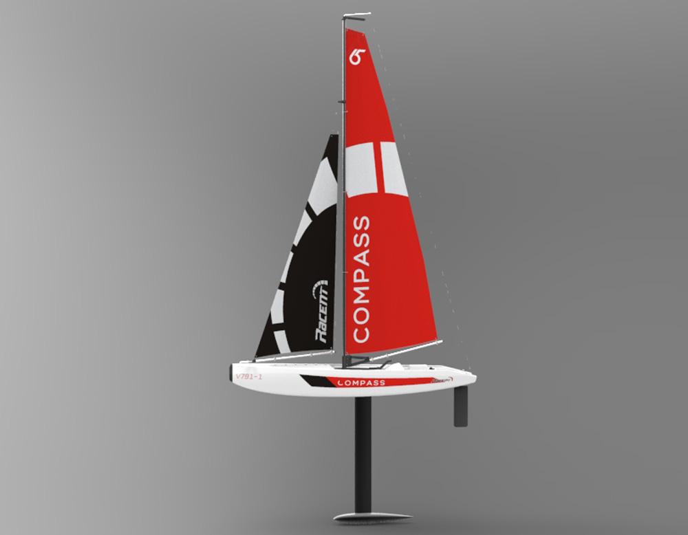 Bck Zwei-Wege-Navigation Rudder Hochgeschwindigkeits-RC Boot 2.4 Ghz-Fernbedienung Racing Schiff Spielzeug Fernbedienung Boot Wasserdichte Speedboat Super-Mini Speed Fernbedienung Schiff Elektroboot