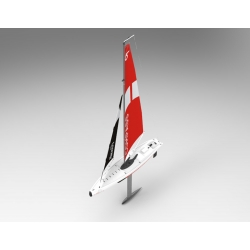 Volantex RC COMPASS RG65 class competition sailboat 650mm ( V791-1 ) RTR