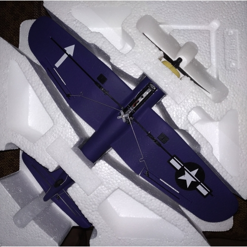 Volantex RC Corsair F4U Airplane Xpilot One Key Aerobatic  761-8 RTF