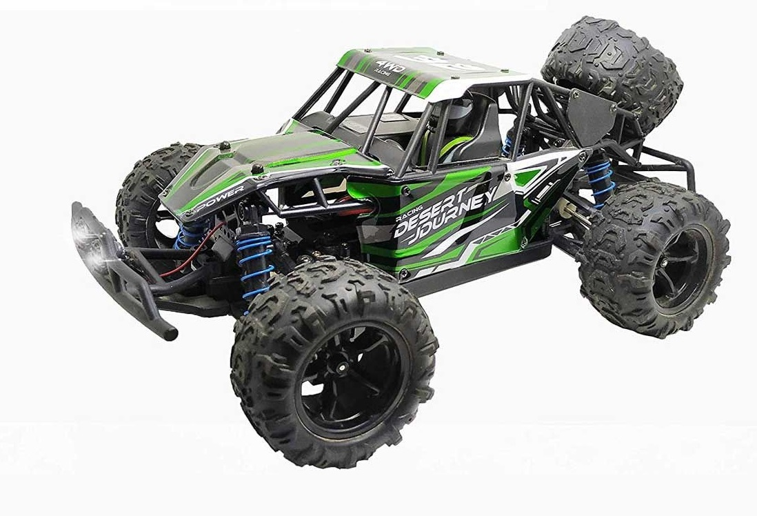 Volantex RC Remote Control Truck Desert Journey 1:18 Scale 4WD Off-Road RC  Car 25mph High Speed All Terrain RC Vechicle
